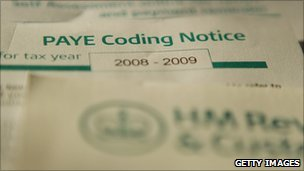 HMRC coding notice