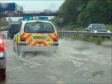 M50 flooded