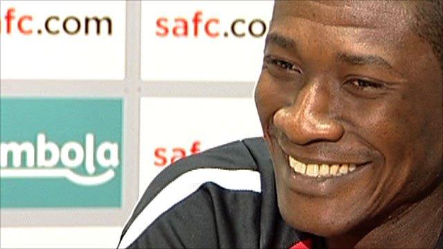 Sunderland and Ghana striker Asamoah Gyan