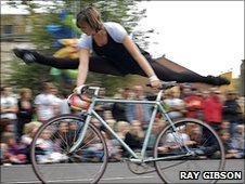 Bicycle ballet (c) Ray Gibson
