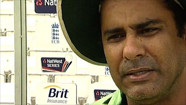 Pakistan cricket coach Waqar Younis