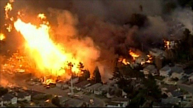 San Bruno fire
