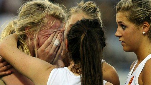 Charlotte Craddock missed one of England's penalties