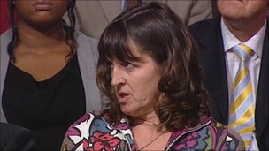 Emma Bridgewater at the Spending review debate