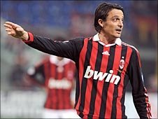 AC Milan defender Massimo Oddo