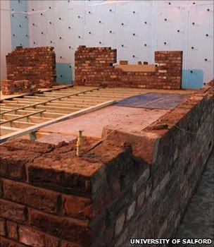 Energy House construction (Image: University of Salford)
