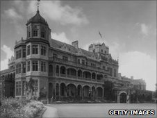 Viceroy's residence in Simla (Shimla) in the 1930s