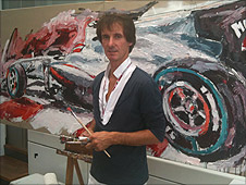 German artist Armin Flossdorf