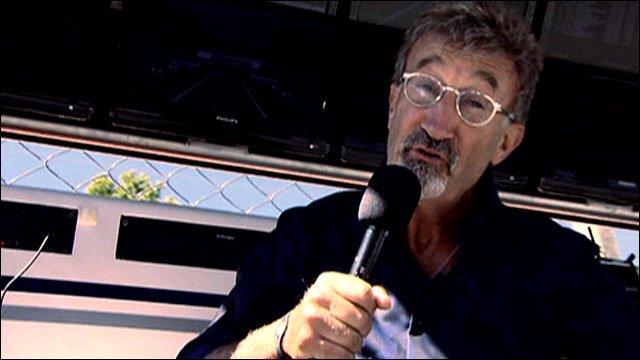 BBC F1 pundit Eddie Jordan