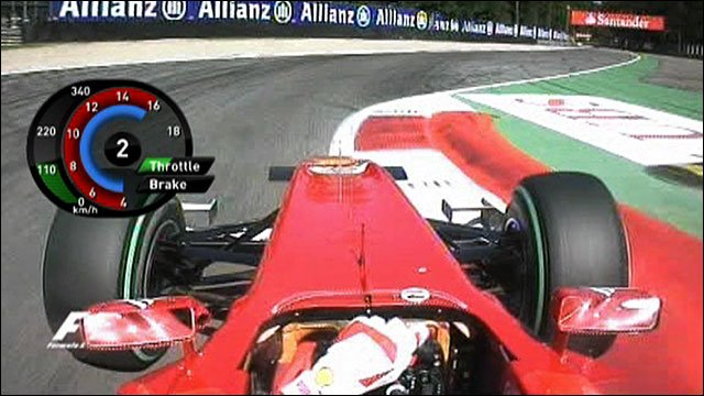 On board Fernando Alonso's Ferrari