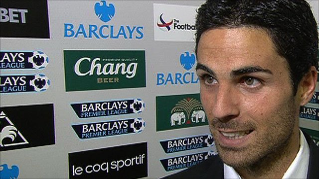 Mikel Arteta scored the equaliser in the 3-3 draw with Man Utd