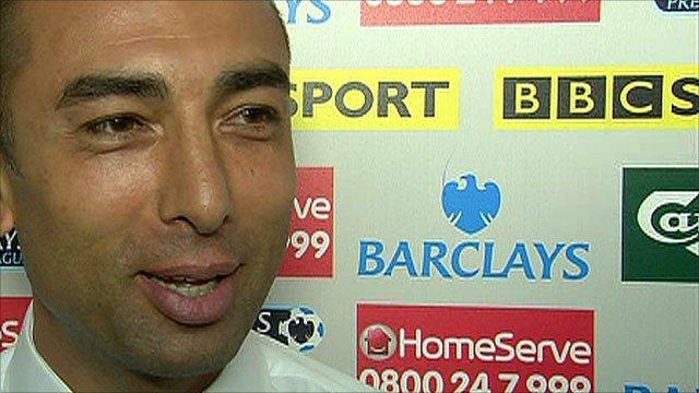 West Bromich Albion boss Roberto Di Matteo