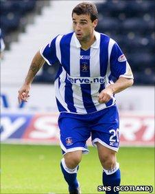 Kilmarnock midfielder Alexei Eremenko
