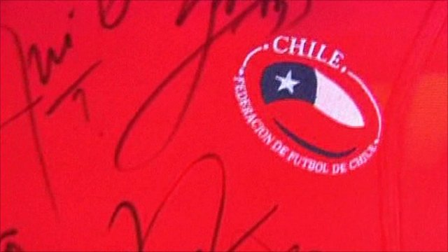 Chile football top