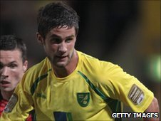 Norwich City midfielder Andrew Surman