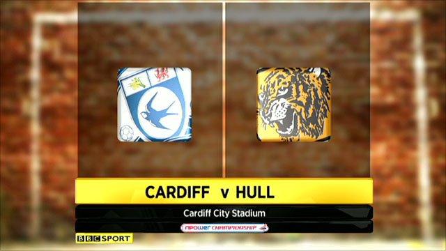 Cardiff 2-0 Hull
