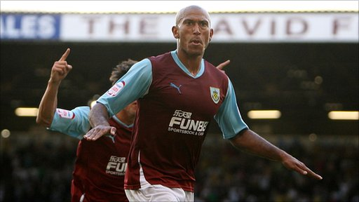 Burnley's Chris Iwelumo