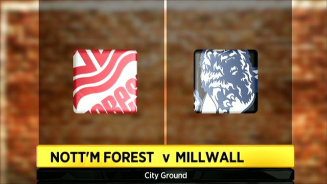 Nott'm Forest 1-1 Millwall