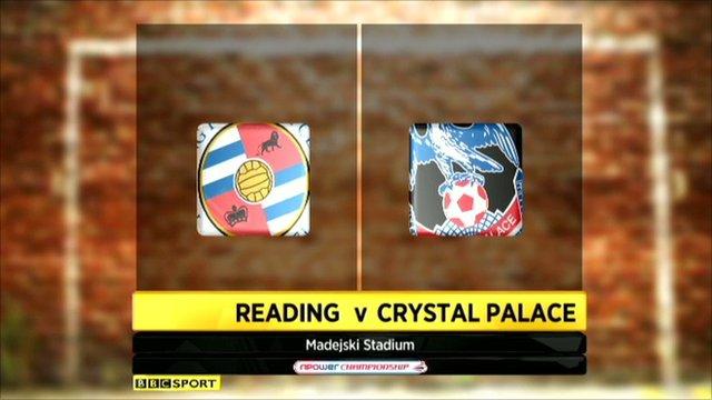 Reading 3-0 Crystal Palace
