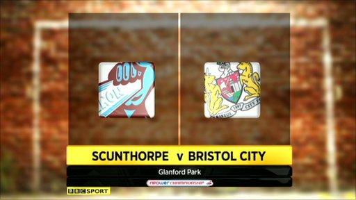 Scunthorpe 0-2 Bristol City