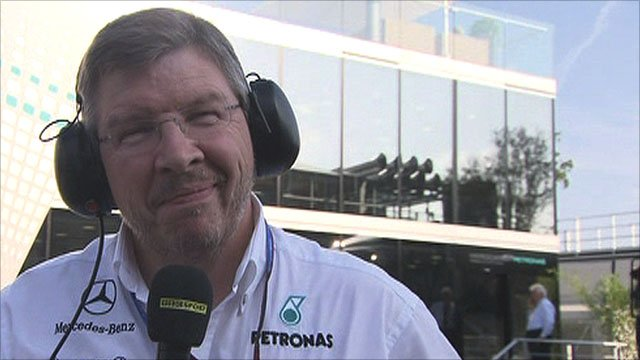 Mercedes chief Ross Brawn