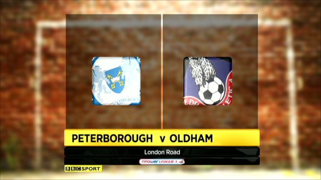 Peterborough 5-2 Oldham