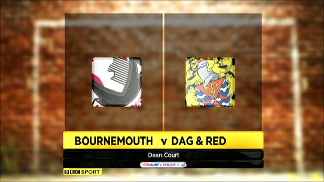 Bournemouth 3-0 Dag & Red
