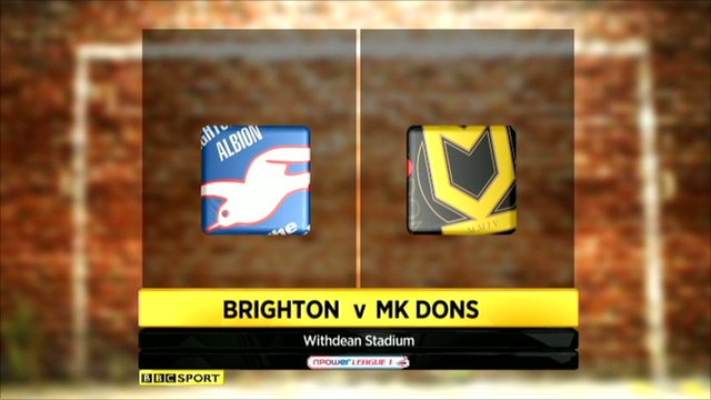 Brighton 2-0 MK Dons