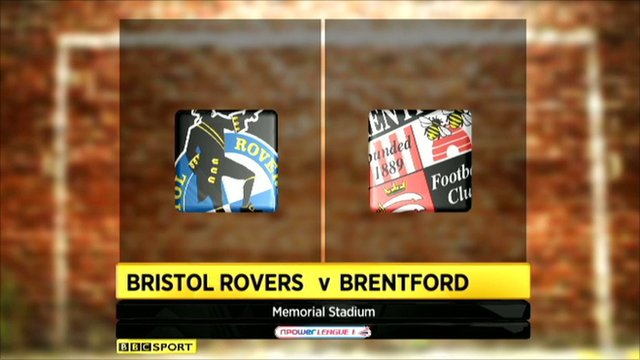 Bristol Rovers 0-0 Brentford