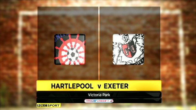 Hartlepool 2-3 Exeter
