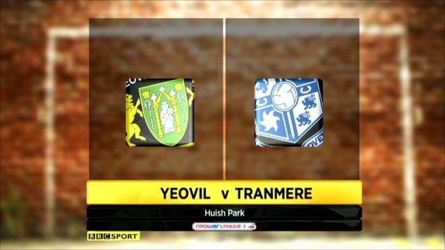 Yeovil 3-1 Tranmere