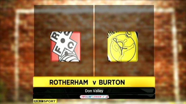 Rotherham 3-3 Burton