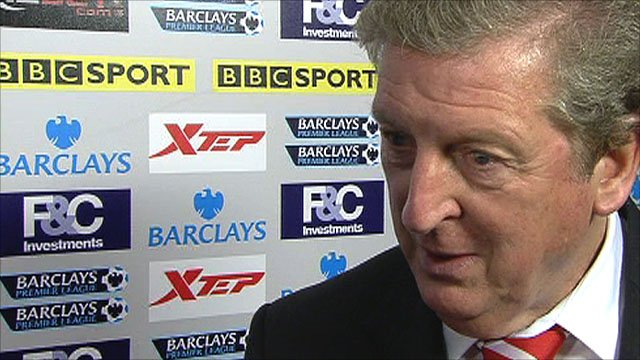 Liverpool manager Roy Hodgson