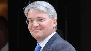 International Development Secretary Andrew Mitchell
