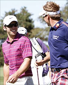 Paul Casey and Ian Poulter