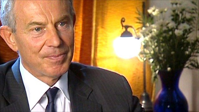 Former UK Prime Minister and Special Envoy to the Middle East, Tony Blair