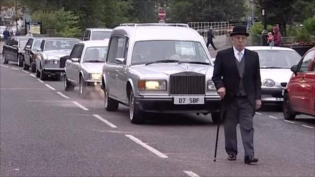 Funeral cortege