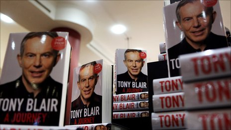 Tony Blair's memoir, A Journey