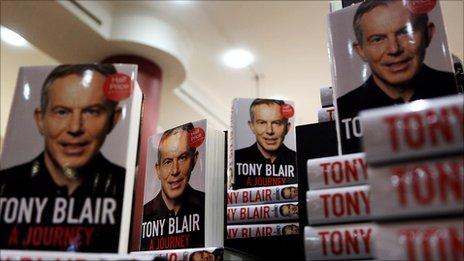 Tony Blair's memoir, A Journey