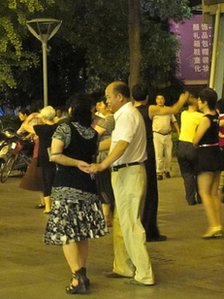 Dancing in Shanghai Park