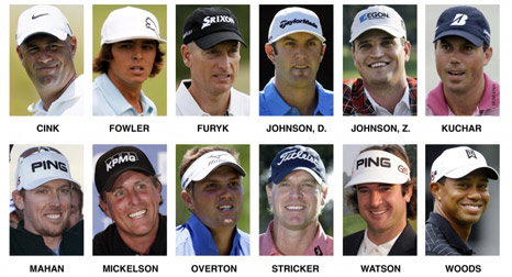 The USA's Ryder Cup team