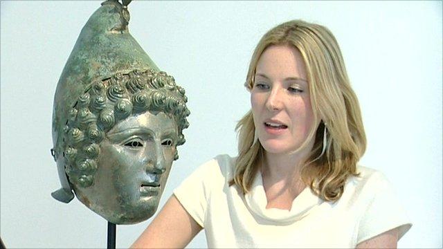 Georgiana Aitken, Head of Antiquities at Christie's
