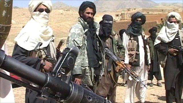 Taliban insurgents