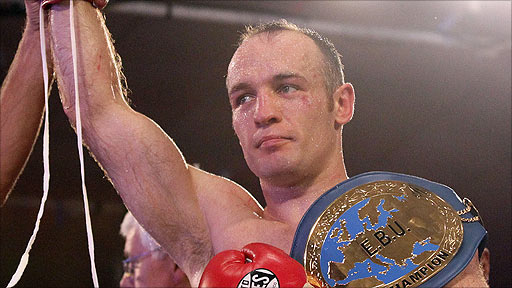 European super-middleweight champion Brian Magee