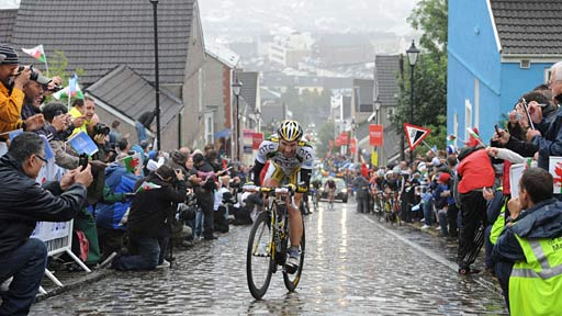 Michael Albasini takes on Swansea's formidable Constitution Hill