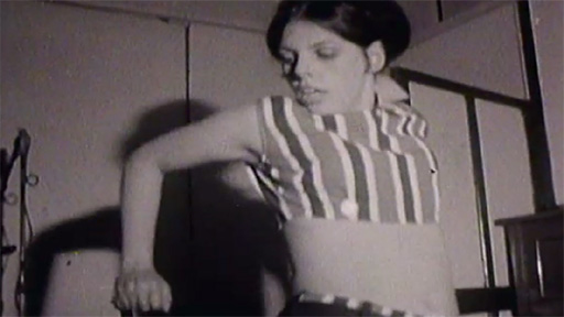Aberystwyth belly dancer from 1967
