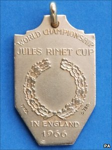 Nobby Stiles World Cup medal