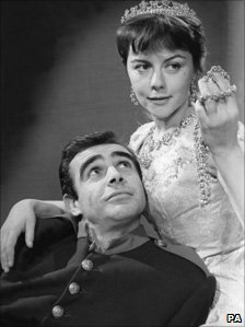 Sir Searn Connery and Dorothy Tutin