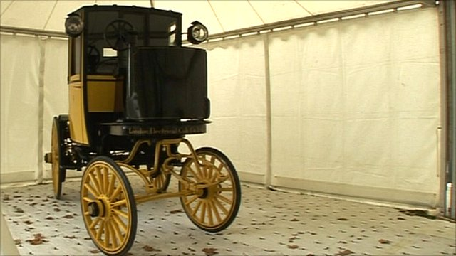 1897 Bersey electric Cab