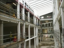 Hartlepool's new �52m College of Further Education.